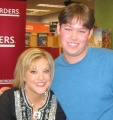 Levi Page and Nancy Grace